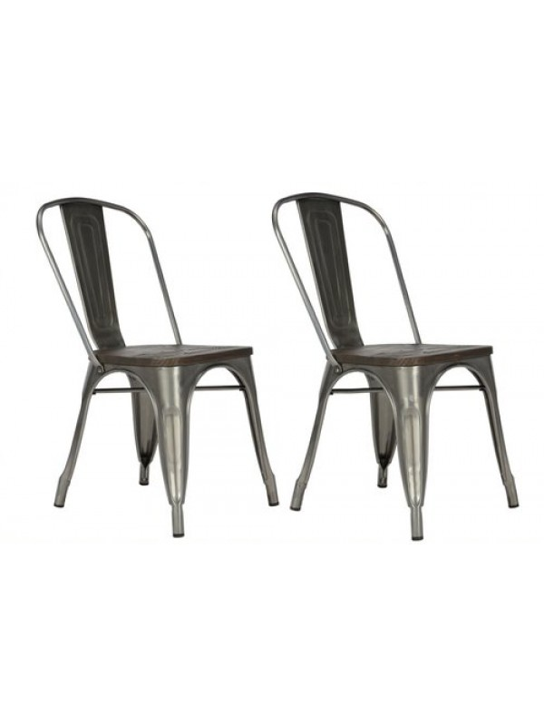Dorel Fusion Dining chair in gun metal or black