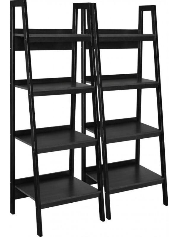 Dorel Lawrence bookcase in black