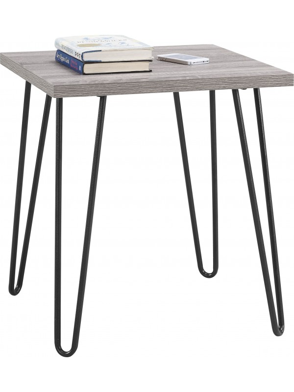 Dorel Owen Retro Hairpin End table