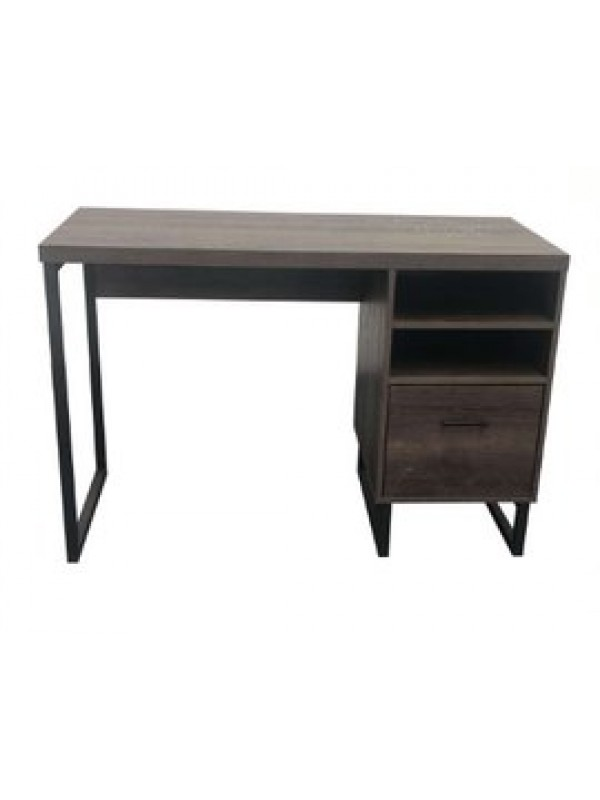 Dorel Candon Desk in medium brown