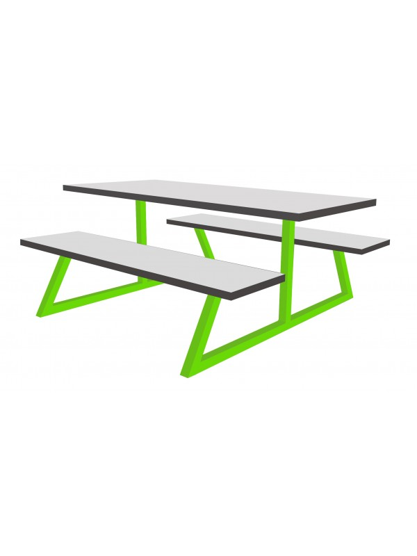 Timor Modular Canteen Unit Fast food  4,6 or 8 seat  Heavy Duty Picnic Bench