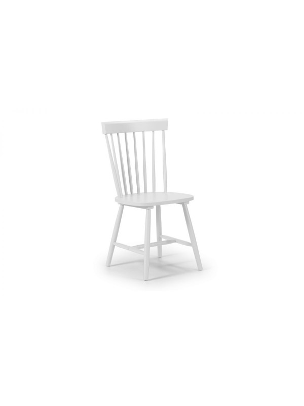 julian bowen Torino White Chair