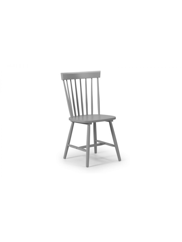 julian bowen  Torino Lunar Grey Chair