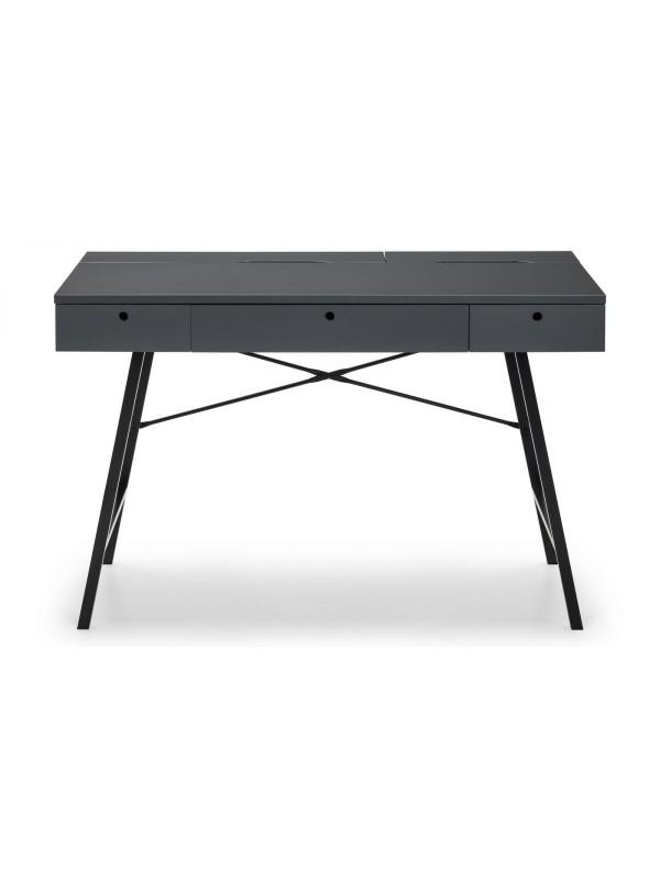 Julian Bowen Trianon Home Office Desk Grey