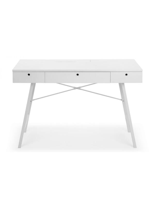 Julian Bowen Trianon Home Office Desk White