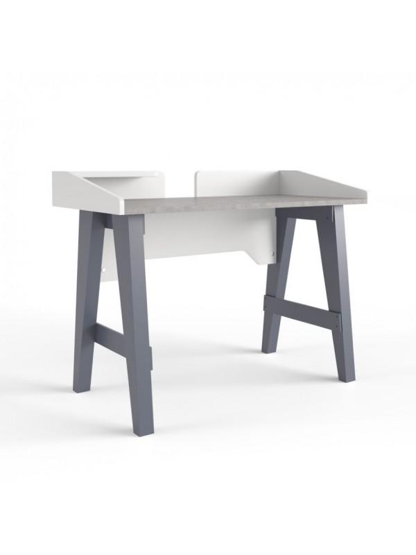Alphason Truro Grey Marble Effect Writing Desk