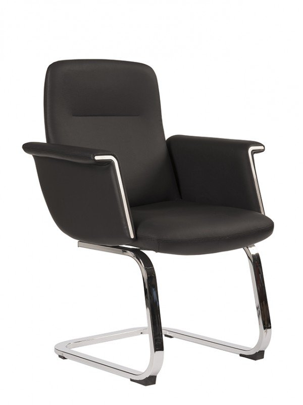 Alliance Gino Stylish Medium Back Cantilever Chair