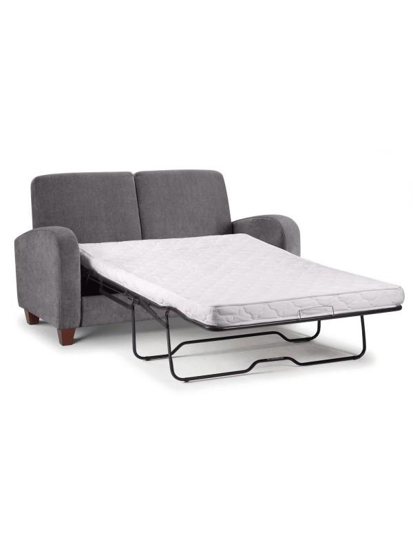 julian bowen Vivo Sofa Bed in Dusk Grey Chenille Fabric