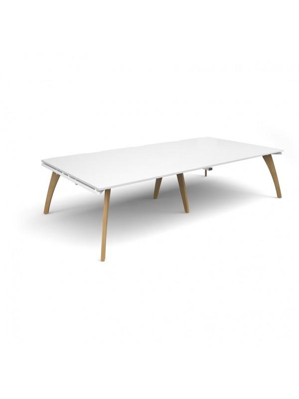 DAMS Fuze rectangular boardroom table