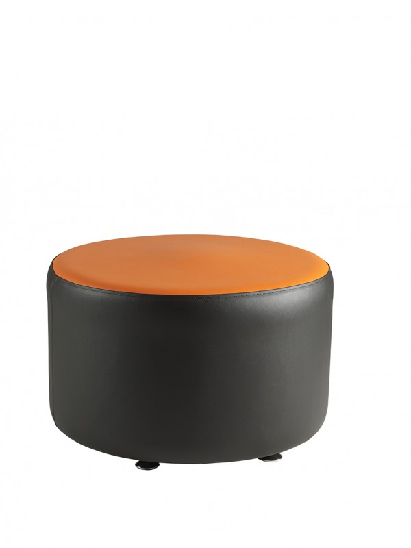 Alliance Pacman Single Round Seat (Chrome Glides as Standard)