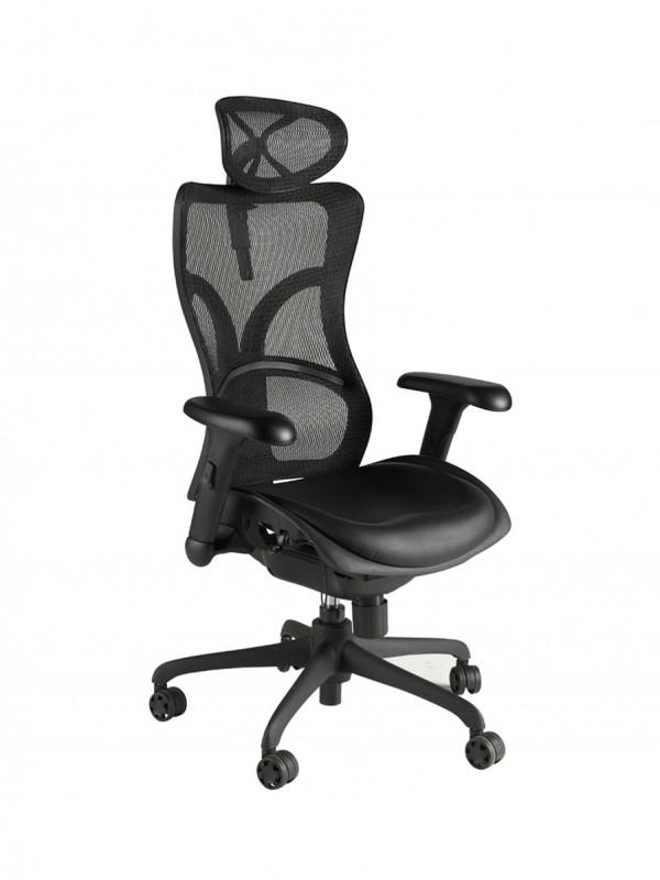 Alliance Monroe High Back Shaped Mesh Chair