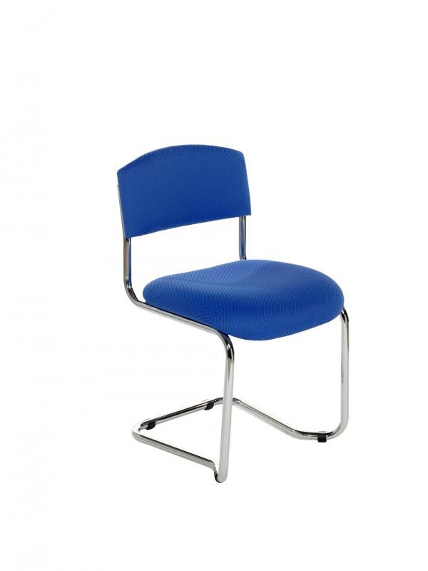 Alliance CS Chrome Cantilever Side Chair