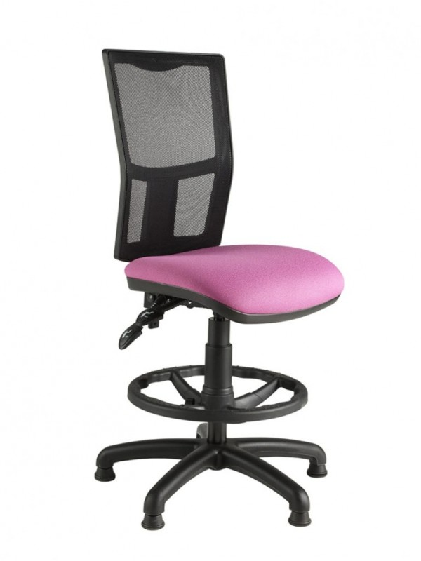 Alliance Zimp Mesh Back Draughtsman Chair